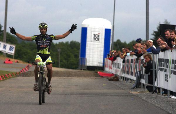 Merida Bike Vysočina 2009 - XCO - Jose Antonio Hermida vítězí