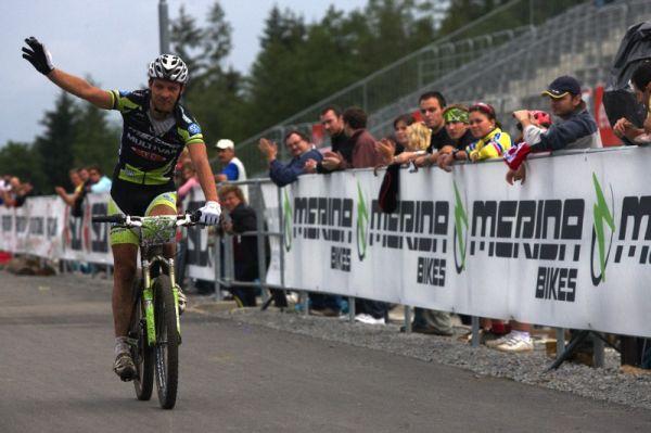 Merida Bike Vysočina 2009 - XCO - jako druhý Ralph Näf