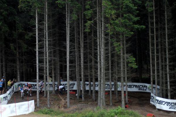 Merida Bike Vysočina 2009 - sprint: lesní pasáž