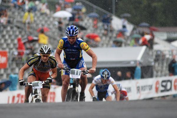 Merida Bike Vysočina 2009 - sprint: Franta Žilák sprinty umí