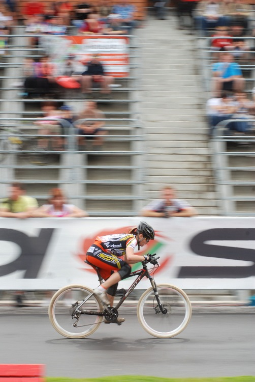 Merida Bike Vyso�ina 2009 - sprint: p�t� Mark�ta Sl�dkov�
