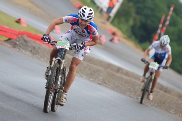 Merida Bike Vysočina 2009 - sprint: Janka Števková