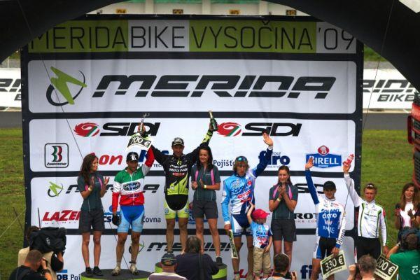 Merida Bike Vysočina 2009 - sprint - 1. Näf, 2. Zoli, 3. Spěšný, 4. Škarnitzl, 5. Friedl