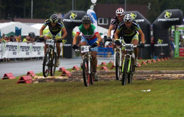 Merida Bike Vyso�ina 2009 - sprint - nabit� rozj��ka N�f, Ausbuher, Zoli a Hermida