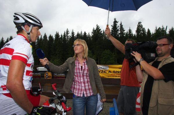 Merida Bike Vysočina 2009 - sprint - Christophu Soukupovi Vysočina nesedla