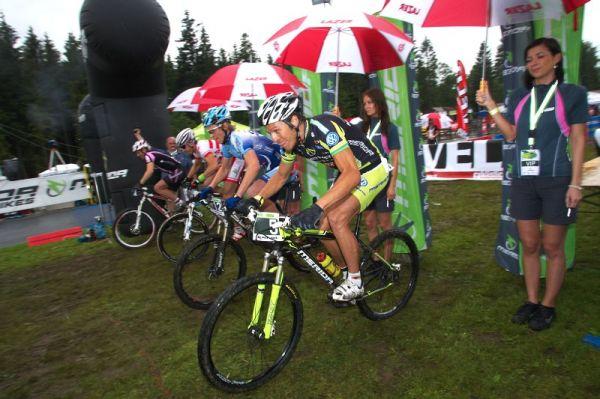 Merida Bike Vyso�ina 2009 - sprint - Ralph N�f vyr�� do bitvy