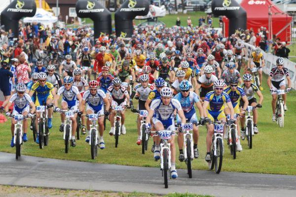 Merida Bike Vysočina 2009 - maraton: start dlouhé trati