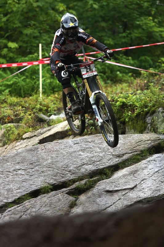 Nissan UCI MTB World Cup 4X/DH #7 - Bromont 1.8. 2009 - Luke Strobel