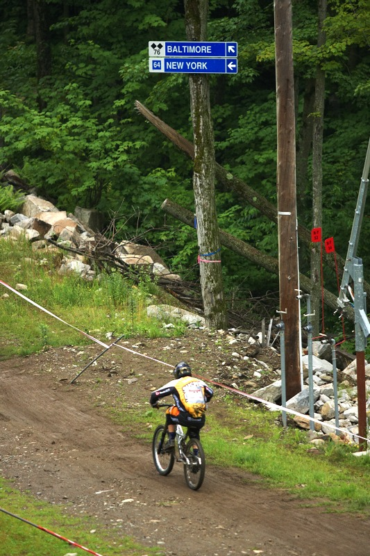 Nissan UCI MTB World Cup 4X/DH #7 - Bromont 1.8. 2009 - tak na Baltimore nebo na New York?