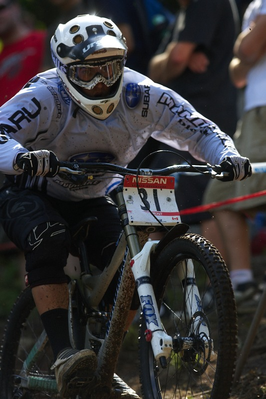 Nissan UCI MTB World Cup 4X/DH #7 - Bromont 1.8. 2009 - Damiel Spagnolo