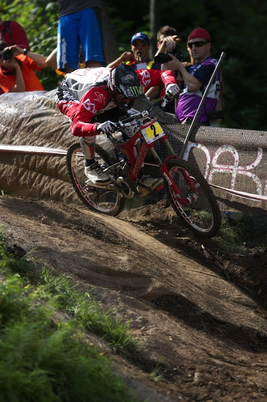 Nissan UCI MTB World Cup 4X/DH #7 - Bromont 1.8. 2009 - Steve Peat