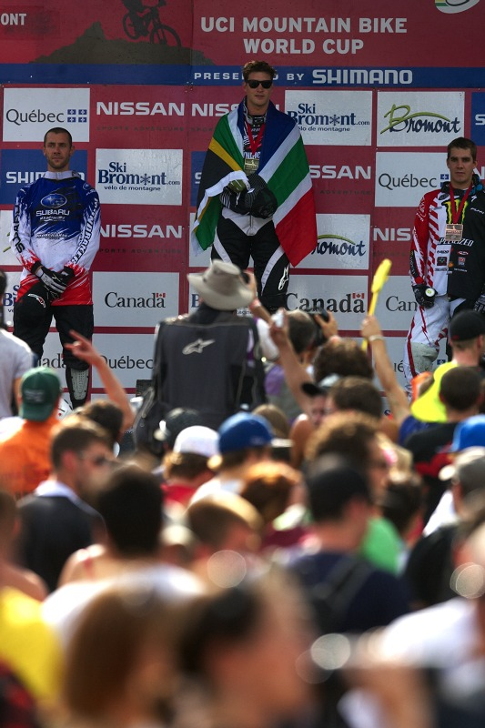 Nissan UCI MTB World Cup 4X/DH #7 - Bromont 1.8. 2009 - p�i jihoafrick� hymn�
