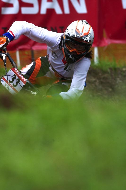 Nissan UCI MTB World Cup 4X/DH #7 - Bromont 1.8. 2009 - Anneke Beerten
