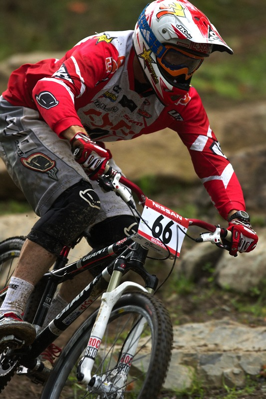 Nissan UCI MTB World Cup 4X/DH #7 - Bromont 1.8. 2009 - Joost Wichman