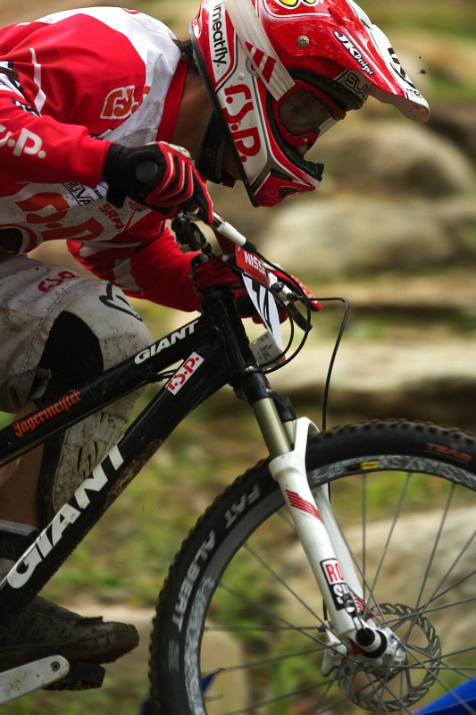 Nissan UCI MTB World Cup 4X/DH #7 - Bromont 1.8. 2009 - Tom� Slav�k