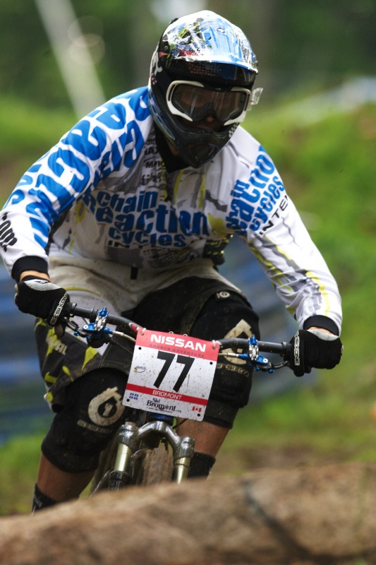 Nissan UCI MTB World Cup 4X/DH #7 - Bromont 1.8. 2009 - Lukáš Měchura