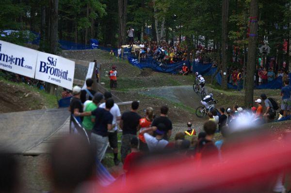 Nissan UCI MTB World Cup 4X/DH #7 - Bromont 1.8. 2009 - Michal už na druhé postupové pozici