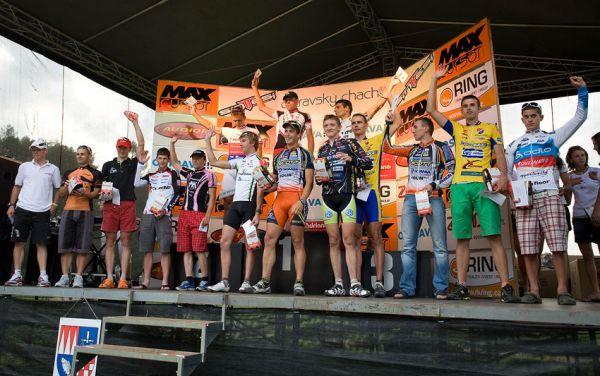 Ostravský Chachar 2009 - VC Ostravy UCI C2 - stupně vítězů a nejlepší muži