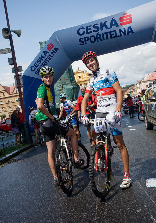 KPŽ Manitou Železné hory 2009 - Ňumi s Vlčákem