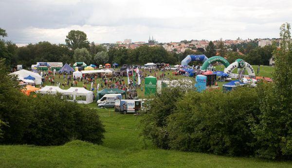 KPŽ Manitou Železné hory 2009 - pohled na zázemí KPŽ