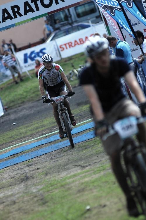 Český pohár XCM #4 2009 - RWE Okoloústí: Jan Jobánek dojíždí na třetím místě