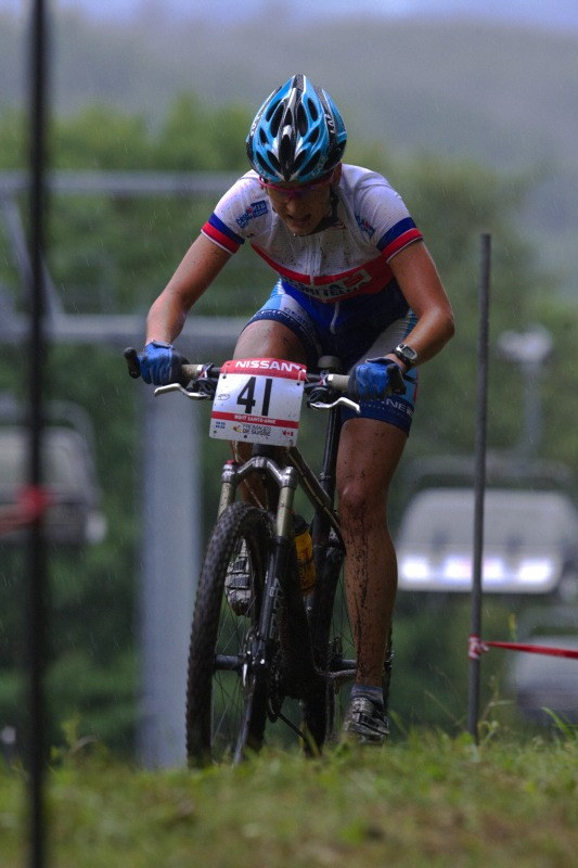 Nissan UCI MTB World Cup XC #5 - Mont St. Anne /KAN/ 26.7.2009 - Tereza Hu��kov�