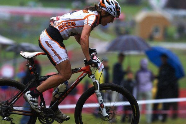 Nissan UCI MTB World Cup XC #5 - Mont St. Anne /KAN/ 26.7.2009 - Marie Helene Promont vítězství z loňska nezopakovala
