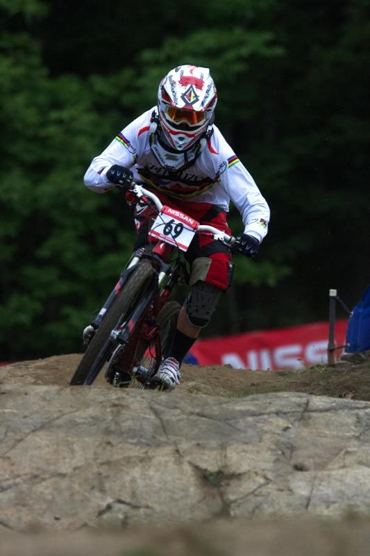 Nissan UCI MTB World Cup 4X+DH #6 - Mont St. Anne /KAN/ 25.7.2009 - Rafael Alvarez