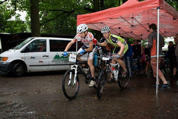 Bikechallenge 2009 - Wouter Cleppe-KenVan den Bulke (BEL) - je odstartováno!