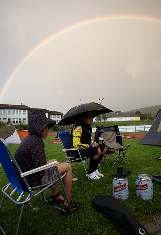 Bikechallenge 2009 - dešťová idylka v Králíkách