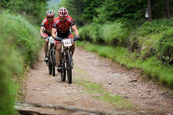 Bikechallenge 2009 - Michal Demjanovi� a Jirka Slab�