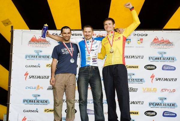Bikechallenge 2009 - nejlepší jednotlivci: 1. Urbanczyk (POL) 2. M. Hornych 3. Poros (POL)