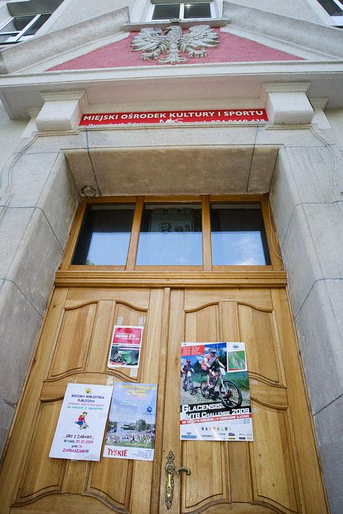 Bikechallenge 2009 - jediný plakát na Bikechallenge co jsme za celou dobu viděli...