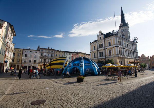 Bikechallenge 2009 - náměstí v Lodek Zdroji