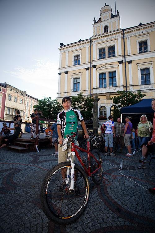 Bikechallenge 2009 - Lída Damková