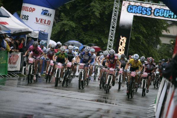 Mistrovství ČR MTB XC 2009 - Karlovy Vary: start žen