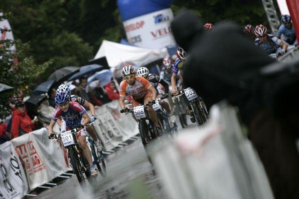 Mistrovství ČR MTB XC 2009 - Karlovy Vary: start kadetek