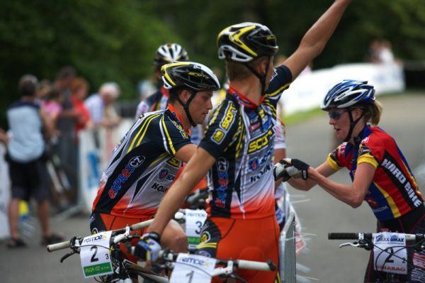 Mistrovství ČR MTB XC 2009 - Karlovy Vary - I Martina Němcová hostovala...