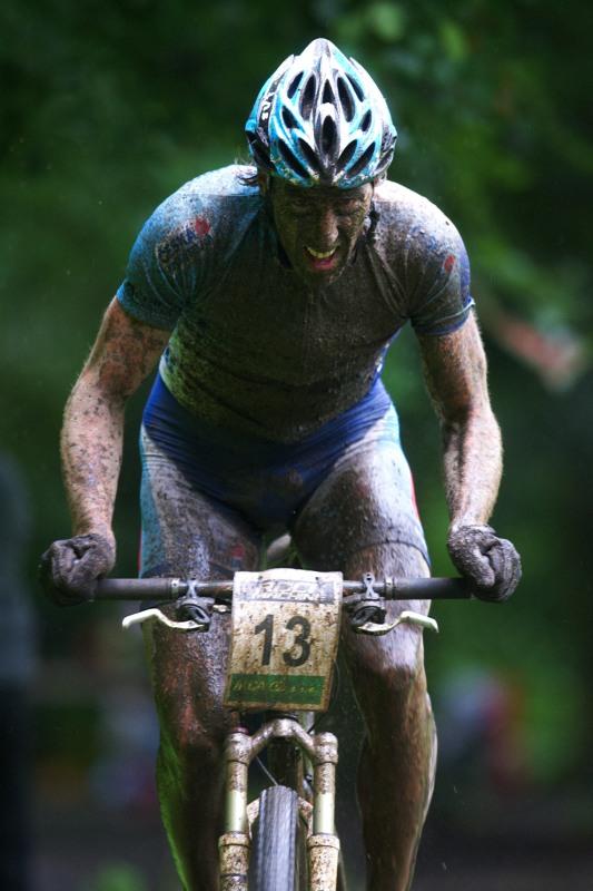 Mistrovství ČR MTB XC 2009 - Karlovy Vary - Milan Spěšný