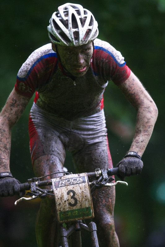 Mistrovství ČR MTB XC 2009 - Karlovy Vary - Tomáš Doležal