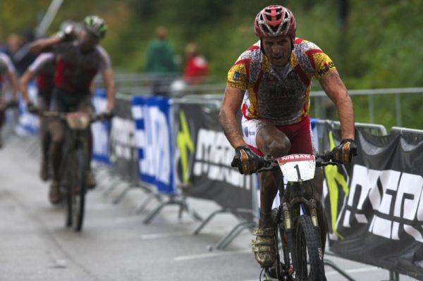 Mistrovství Evropy MTB XC 2009 - Zoetermeer /NED/ - elite: první kolo ovládnul Španěl Jose Antonio Hermida