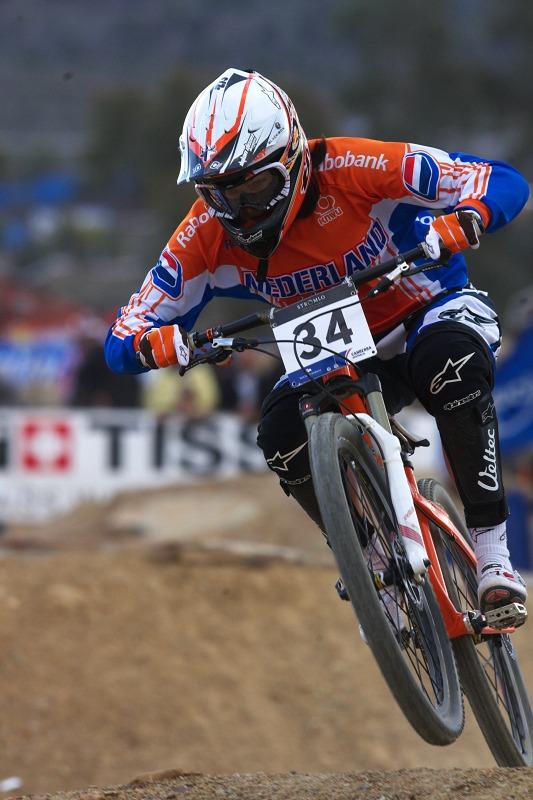 Mistrovství světa MTB 4X 2009 - Canberra /AUS/ - kvalifikace - Anneke Beerten