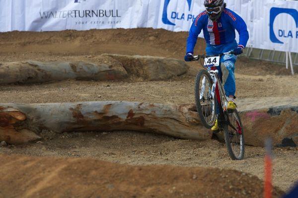Mistrovství světa MTB 4X 2009 - Canberra /AUS/- kvalifikace - Romana Labounková
