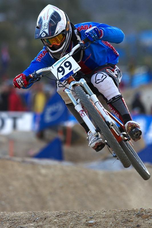 Mistrovství světa MTB 4X 2009 - Canberra /AUS/- kvalifikace - Jakub Říha