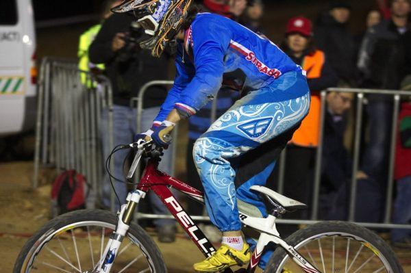 Mistrovství světa MTB 4X 2009 - Canberra /AUS/ - Romana Labounková po pádu