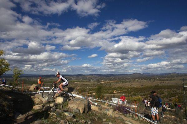 Mistrovství světa MTB XC 2009, Canberra /AUS/ - nádherný den ve Stromlo Forrest Parku