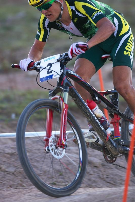 Mistrovství světa MTB XC 2009, Canberra /AUS/ - Burry Stander