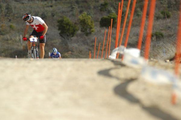 Mistrovství světa MTB XC 2009, Canberra - muži U23: Thomas Litscher a Alexis Vuillermoz