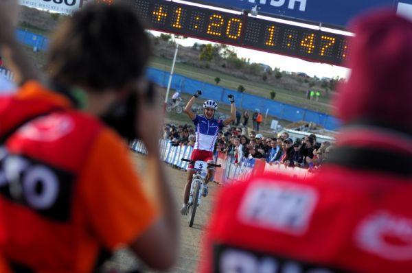 Mistrovství světa MTB XC 2009, Canberra - muži U23: Vuillermoz dojíždí druhý