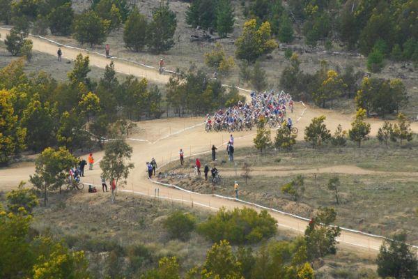 Mistrovství světa MTB XC 2009, Canberra - junioři: zaváděcí část po startu